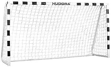 Hudora 76907 Fußballtor Stadium mit echten 200 cm Höhe Fussballtor