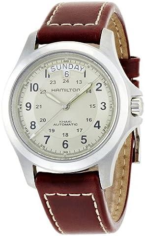Hamilton Khaki Field King Automatic Beige Dial Mens Watch H64455523 (Hamilton Khaki Field Automatic)