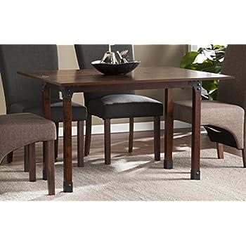 southern enterprises carlow flip top convertible console dining table sating black. Black Bedroom Furniture Sets. Home Design Ideas