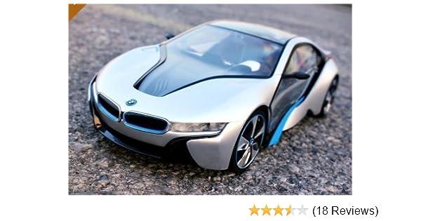 Amazon Com Bmw I8 1 14 Toys Car Radio With Wireless Remote Models