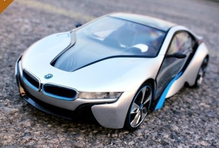 Amazon Com Bmw I8 1 14 Toys Car Radio With Wireless Remote Models