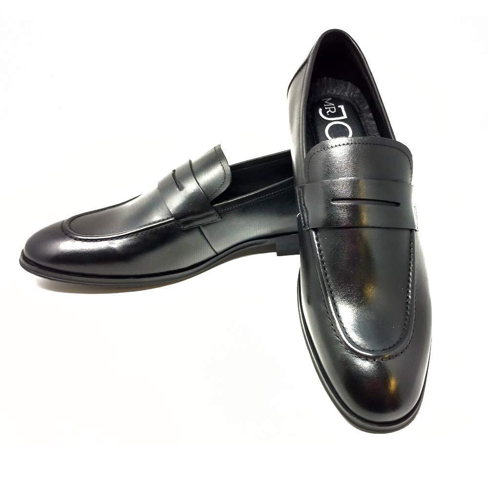 349c4f700488 Mr. Jog Men s Premium Leather Slip On Dress Shoe
