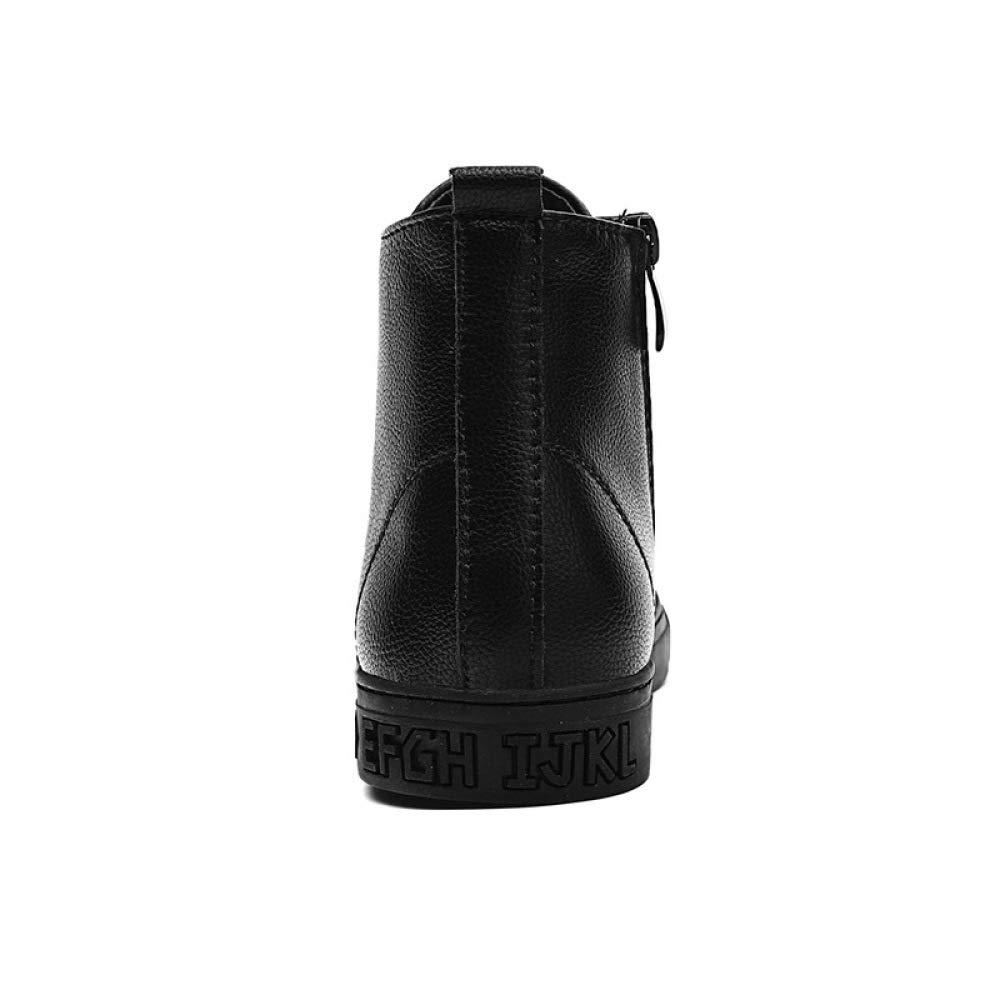 WEGCJU Bottes d'hiver pour De Hommes Martin Portent des Bottes De Neige Chaussures De pour Ran ée en Plein Air Antidérapantes Chaudes 4af2b1