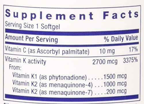 Life Extension Super K With Advanced K2 Complex Softgel by Life Extension (Image #1)