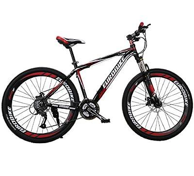 New X1-GTR 27.5 in X17 in Black Red Disc Brake Mans Mountain Bike Shimao 27 Speeds Hardtail Mountain Bicycles