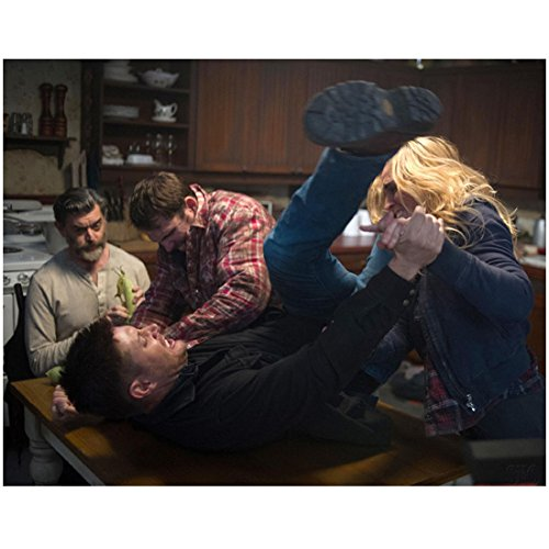 Weapon Troopers Starship (Supernatural Timothy Omundson As Cain Sitting At Table Watching Fight 8 x 10 Inch Photo)