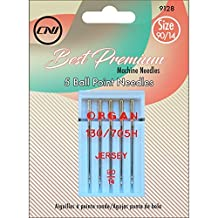 Clover 9128 Best Premium Machine Needles, Ballpoint