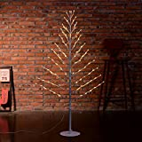 Excelvan 1.2M/4FT 96LEDs Flexible Plane Tree Light Warm White Light White Branches Perfect for Home Festival Party Wedding Bar Indoor Outdoor Decoration