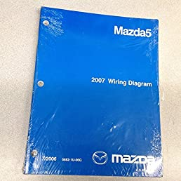 2007 mazda5 electrical wiring diagram troubleshooting shop manual rh amazon com mazda 5 wiring diagram 2012 mazda 5 radio wiring diagram