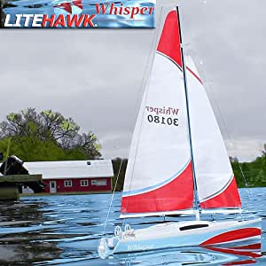 LiteHawk WHISPER Remote Controlled Sailboat