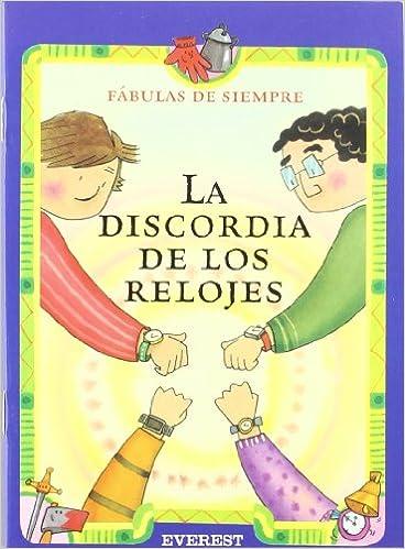 La Didcordia de Los Relojes (Spanish Edition): Myriam Sayalero: 9788424185343: Amazon.com: Books