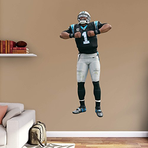 NFL Carolina Panthers NFL Cam Newton 2015 Superman Realbig, Real Big by Fathead Peel and Stick Decals