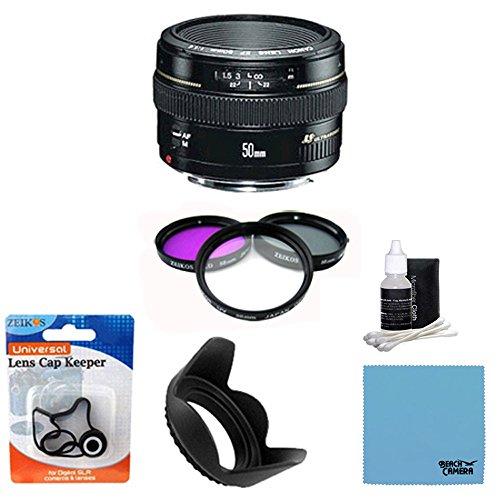 Canon EF 50mm f1.4 USM Standard & Medium Telephoto Lens for