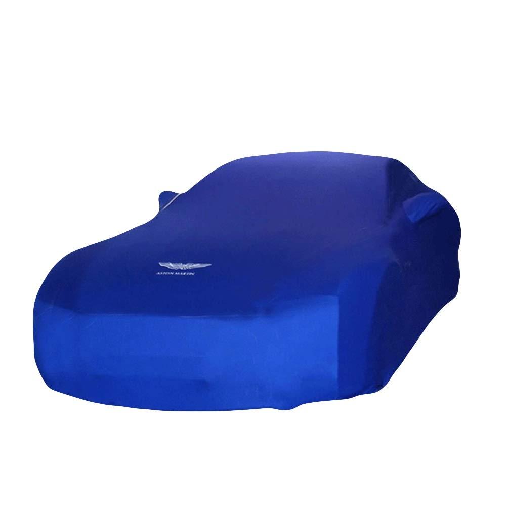 Farbe : Blau, gr/ö/ße : Morgan Plus 8 Keller, Auto Show, Autoh/ändler benutzerdefinierte Version blau Auto Abdeckung Samt Stretch-Kleidung LALAWO Chezhao F/ür Morgan-Serie gewidmet