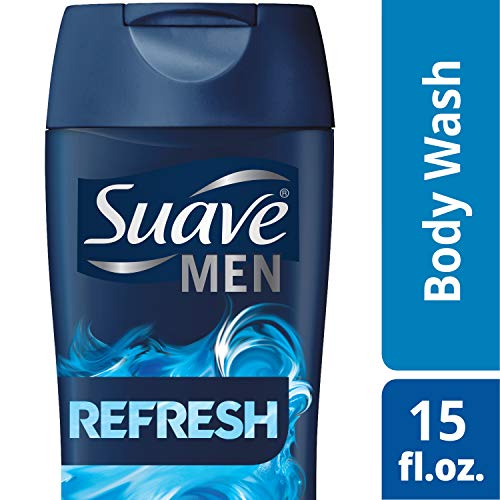 Suave Men Body Wash, Refresh, 15 Fl