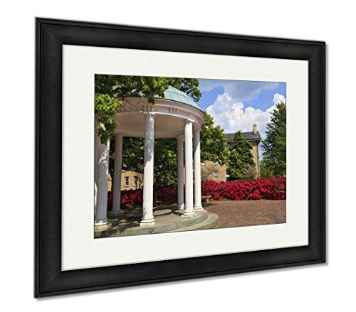Ashley Framed Prints Old Well At Unc Chapel Hill, Office/Home/Kitchen Decor, Color, 30x35 (frame size), Black Frame, (North Carolina Chapel Hill Framed)
