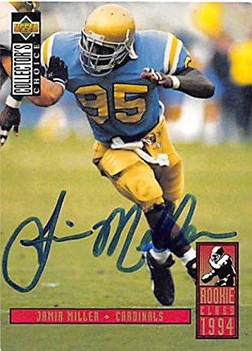 Autograph 125546 Ucla 1994 Upper Deck Rookie Class No. 10 Jamir Miller Autographed Football Card ()