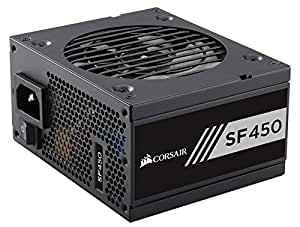 Corsair CP-9020104-NA  SF Series, SF450, SFX Form Factor, 450 Watt (450W), Fully Modular Power Supply, 80+ Gold Certified, 7 Year Warranty