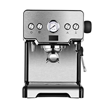 YRYH Máquina de café y café exprés Todo en uno, máquina de café ...