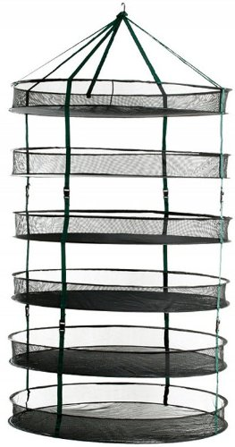 STACK!T Dry Rack with Clips, 3-Feet by Hydrofarm