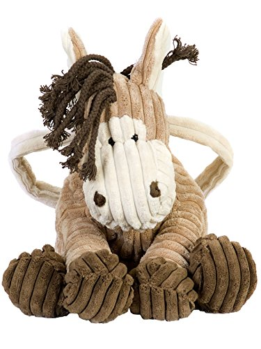 Princess Paradise Corduroy Horse Trick Treat Bag