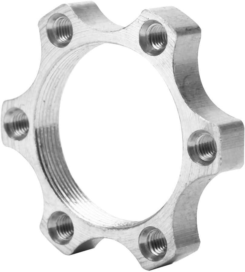 48mm 6 Pernos Bicicleta Aleaci/ón de Aluminio Ruedas Libres Ejes Roscadas Disco de Freno Rotor de Freno Adaptador de Brida Parte Tbest Adaptador de Rotor de Freno de Disco,10Pcs 44mm
