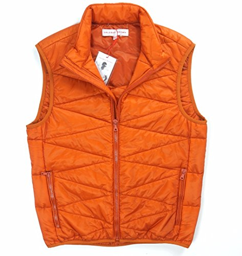 ORLEBAR BROWN Vest, Dark Papaya, - Brown Orlebar And