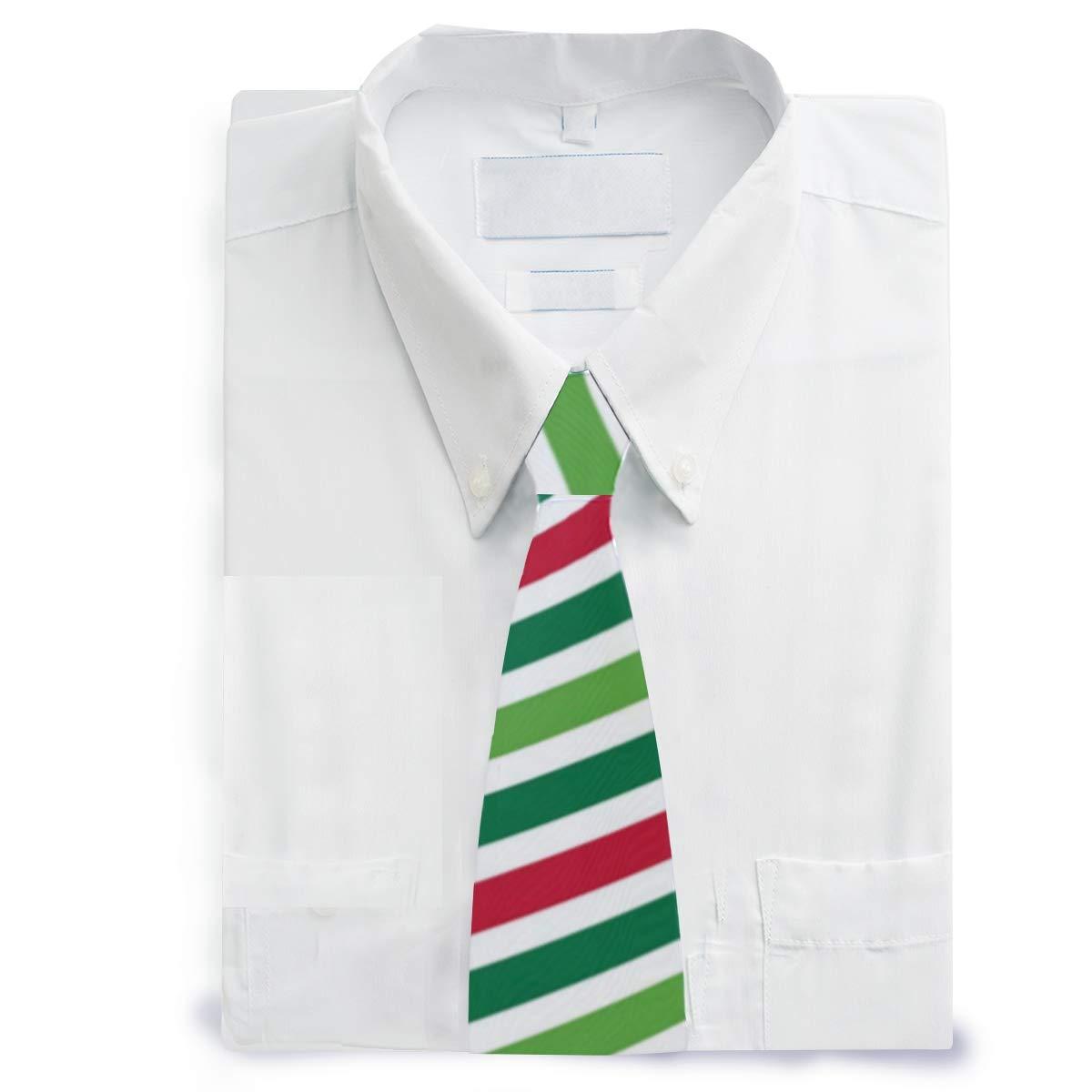 MALPLENA - Corbata de satén para hombre con diseño de lazo rojo de ...