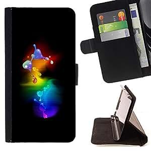 Jordan Colourful Shop - 3D molecule bubbles minimalist For Samsung Galaxy S5 V SM-G900 - Leather Case Absorci???¡¯???€????€???????&bd