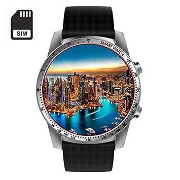 Msxx Relojes Inteligentes para Hombres, Compatibles con Android Y iPhone, Reloj Fitness con Monitor
