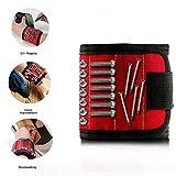 Magnetic Wristband Pocket Tool Belt Pouch Bag Screws Holder Workshop Carpenter