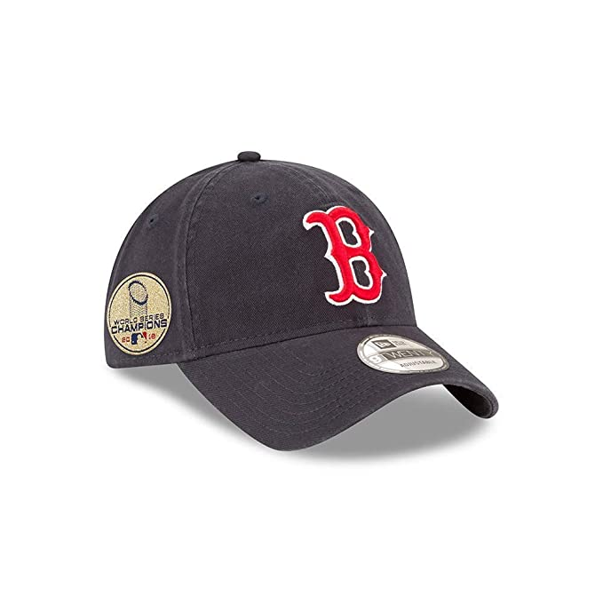 68828b66115cd5 Amazon.com : New Era Boston Red Sox 2018 World Series Champions Side Patch  9Twenty Adjustable Hat : Clothing