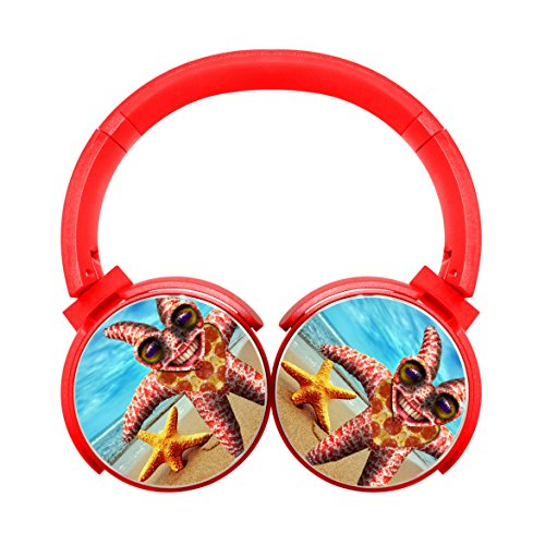 Unique Personal Top Red Notch Wireless Headset Funny Strange Starfish Cell Phone Calls Portable Headphones - Marin Sunglasses Jacob