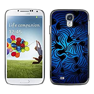 PC/Aluminum Funda Carcasa protectora para Samsung Galaxy S4 I9500 Space Squid / JUSTGO PHONE PROTECTOR