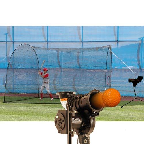 Heater Sports PowerAlley Lite & HomeRun 12′ x 12′ x 10′ Cage