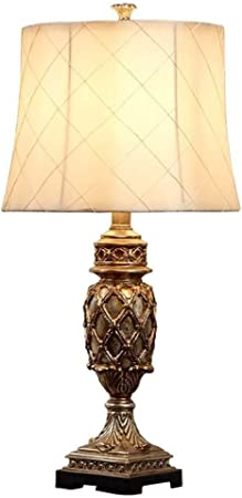 Hjbh123 Lampe de Chevet Table américaine Creative Tissu