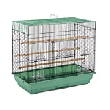 Prevue Pet Products SP1804-4 Flight Cage Green and Black