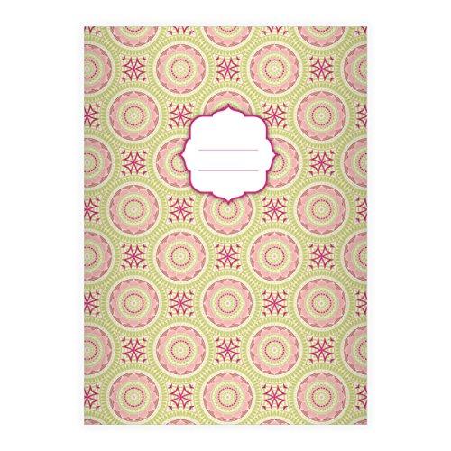 Kartenkaufrausch 2 Personalisierte Coole Ethno Din A5 Schulhefte