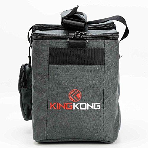 King Kong FUEL meal prep bag, Charcoal by King Kong (Image #4)