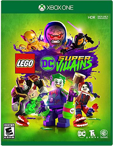 LEGO DC Super-Villains - Xbox One (Best One Player Games For Ps4)
