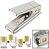 Everydaysource® Silver Nano SIM Card Cutter