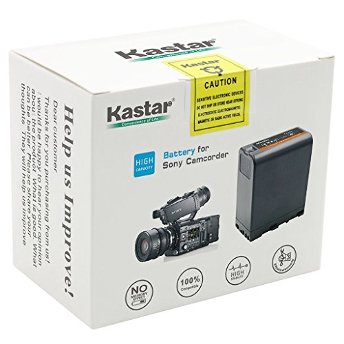 514WysFuSjL - Kastar BP-U66 Battery (3X) for Sony BP-U90 BP-U60 BP-U30 and PXW-FS7/FS5/X180 PMW-100/150/150P/160 PMW-200/300 PMW-EX1/EX1R PMW-EX3/EX3R PMW-EX160 PMW-EX260 PMW-EX280 PMW-F3 PMW-F3K PMW-F3L Camcorders