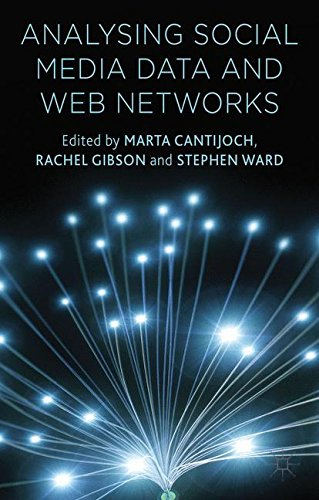 Analyzing Social Media Data and Web Networks