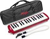 Stagg MELOSTA32 RD Melodica, Red
