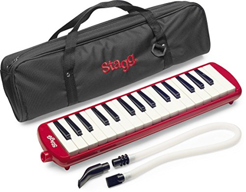 Stagg MELOSTA32 RD Melodica, Red by Stagg