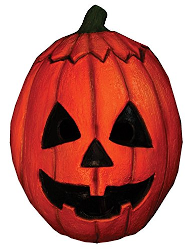 (Trick or Treat Studios Men's Halloween III-Pumpkin Mask, Multi, One)