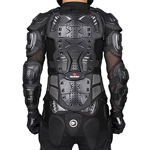 Men Full Body Protector Motorcycle Armor Jacket Spine Chest Gear Motocross Motos