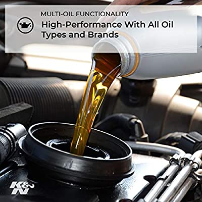 K&N Premium Oil Filter: Designed to Protect your Engine: Fits Select FORD/AUDI/VOLKSWAGEN/MERCURY Vehicle Models (See Product Description for Full List of Compatible Vehicles), HP-3001: Automotive