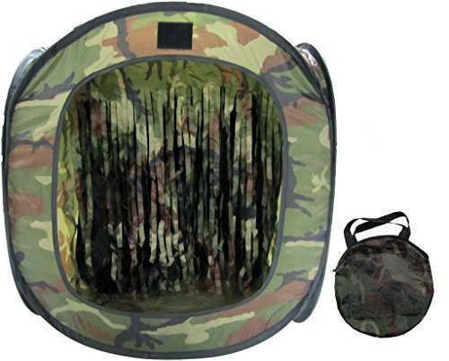 (PForce Portable Airsoft Target with BB Trap)