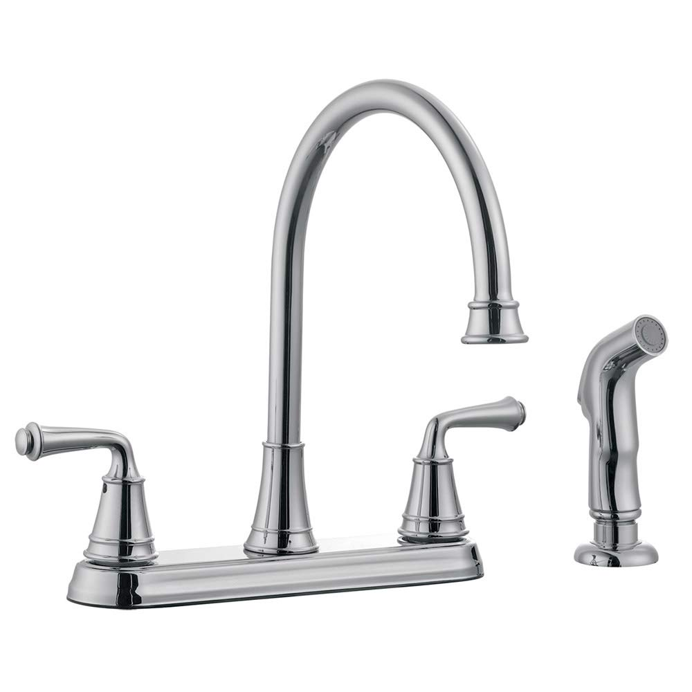 Design House 524710 Kitchen Faucets, Polished Chrome